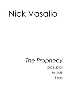 Pages from Nick Vasallo - The Prophecy 1
